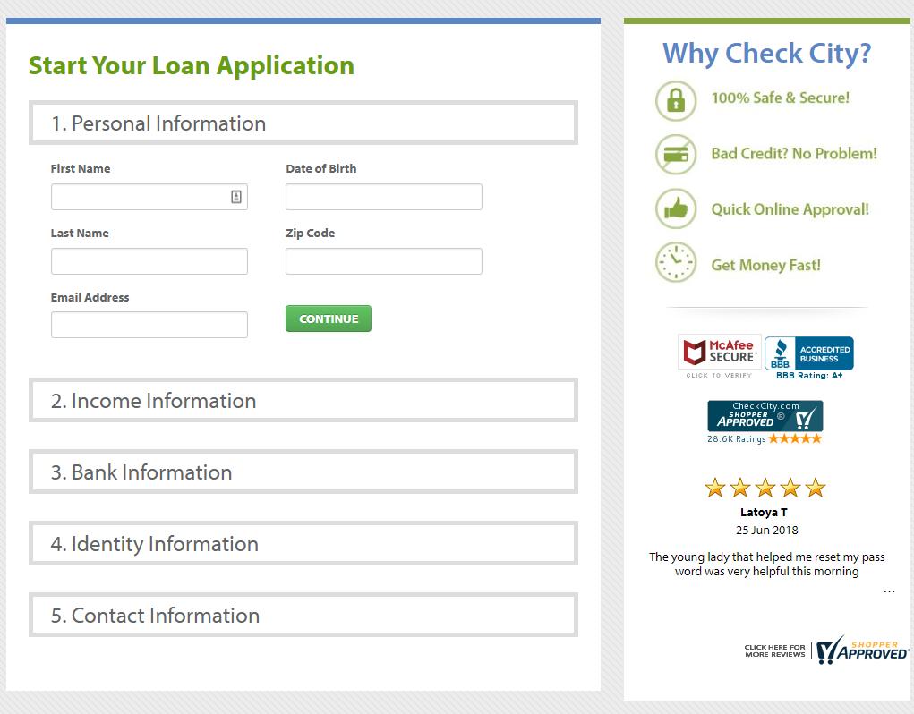 Check City Application
