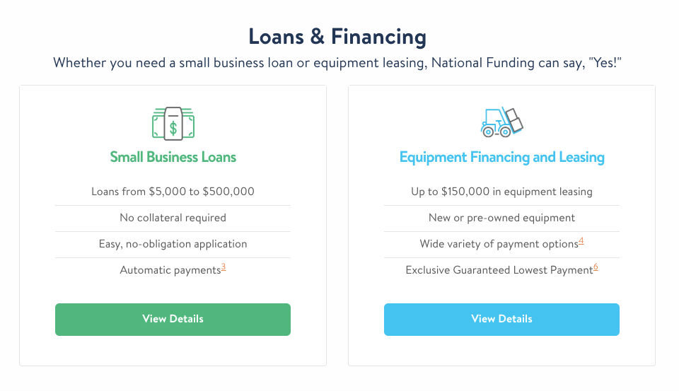 National Funding Options